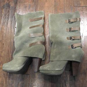 Platform, heeled, boots